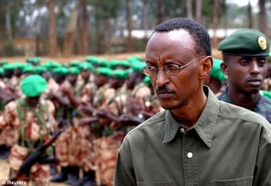 Blair supports monstrous Rwandan President Paul Kagame has sent hit squads to kill dissidents overseas, through his personal charity