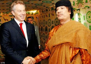 Sorid: Blair's disgraceful 'deal in the desert' nine years ago with Libyan dictator Muammar Gaddafi